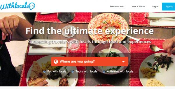 Withlocals, Viajes y experiencias con personas locales