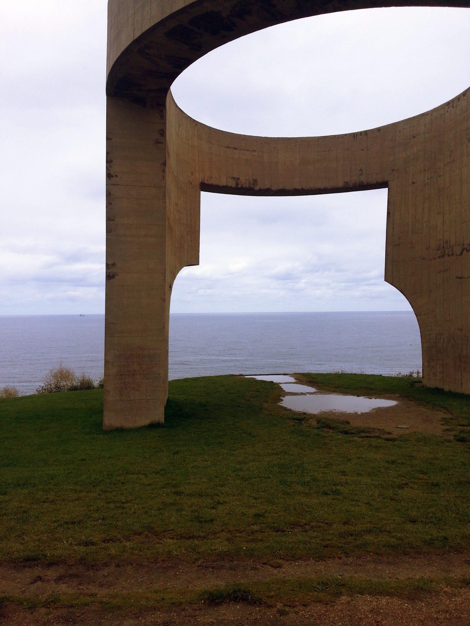 Elogio del horizonte, en Gijón