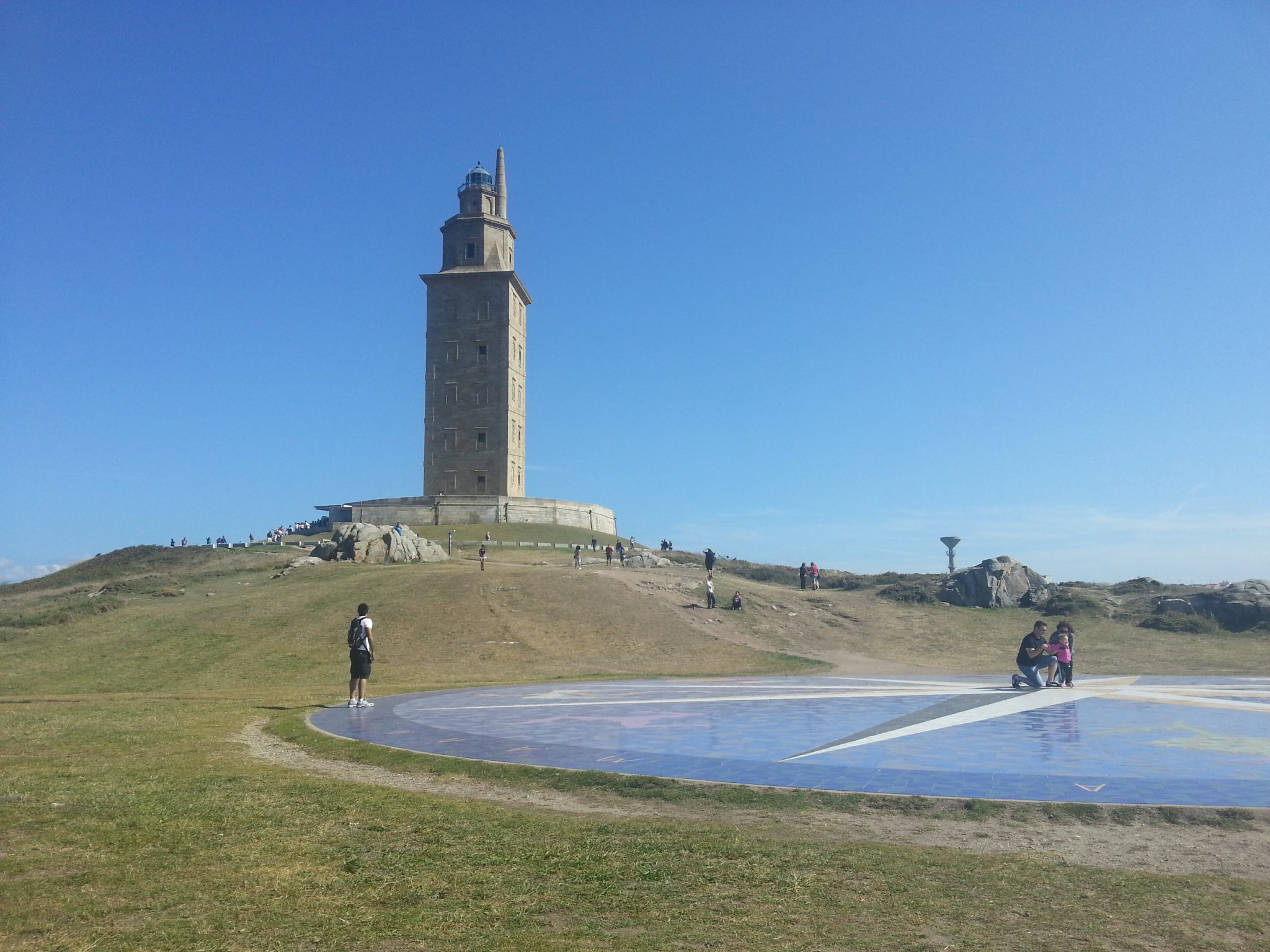 La Torre de Hércules, en A Coruña