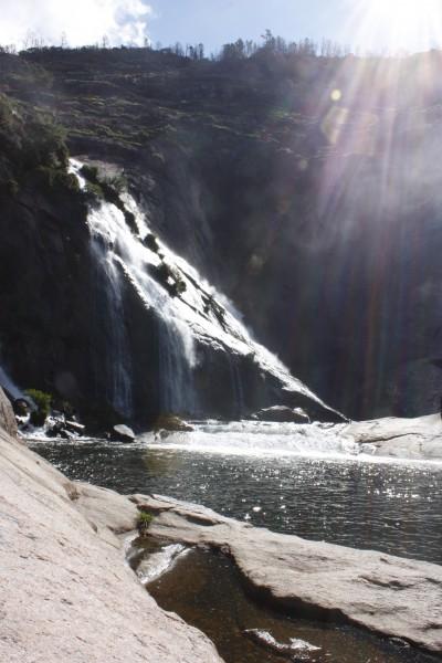 La cascada del Ézaro