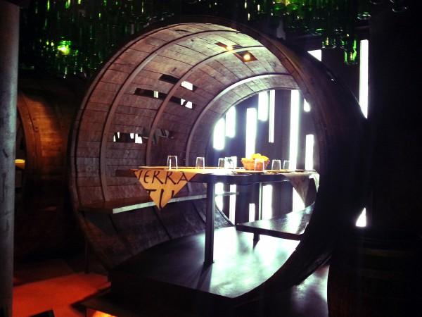 Decoración del restaurante Tierra Astur